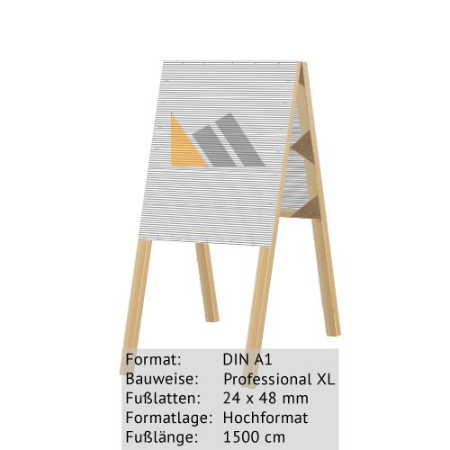 Hohlkammer-Dachständer DIN A1 24 x 48 mm günstig online kaufen bei McPoster.com