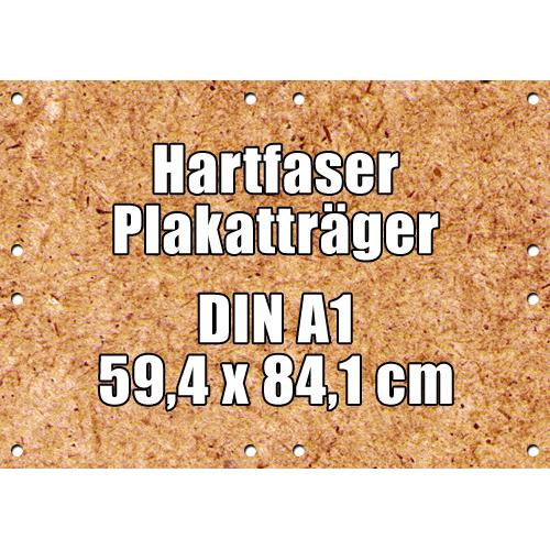 Hartfaser Plakatträger DIN A1 59,4 x 84,1 cm gebohrt günstig online kaufen bei McPoster.com