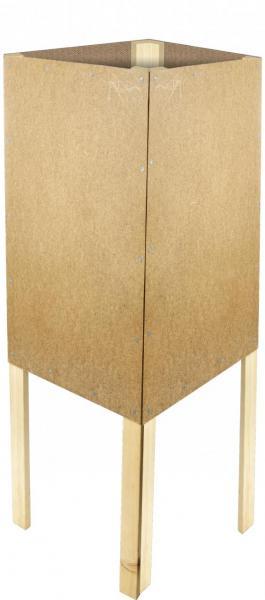Holz-Viereckständer zum Bekleben mit Plakaten DIN A1 günstig online kaufen bei McPoster.com